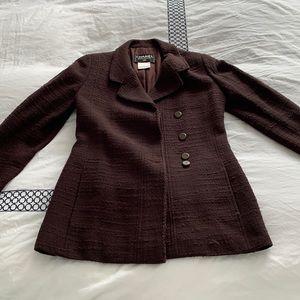 Vintage Chanel Brown Jacket Size 36